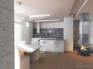 Arch. Giorgia Congiu Cocinas de estilo moderno