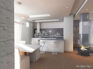 Arch. Giorgia Congiu Modern kitchen
