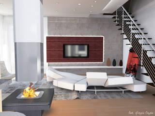 Arch. Giorgia Congiu Salones de estilo moderno