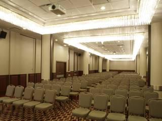 Hotel Radisson BLU piętro bankietowo konferencyjne, projekt wnętrz, nadzór, wykonawstwo pod klucz od Anna Buczny PROJEKTOWANIE WNĘTRZ Nowoczesny