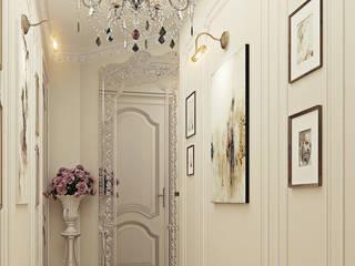 Белое золото Гардеробная в классическом стиле от Premier Dekor Классический