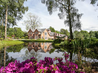 Lakeside Garden, Cheshire โดย Barnes Walker Ltd