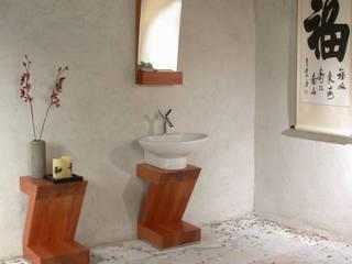 Projekt mebla łazienkowego od Anna Buczny PROJEKTOWANIE WNĘTRZ Minimalistyczny