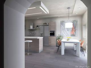 Arch. Giorgia Congiu Mediterranean style kitchen