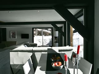 Chevallier Architectes Modern dining room