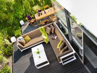 Zestaw ogrodowy Toscania: styl , w kategorii  zaprojektowany przez Kupmeble.pl