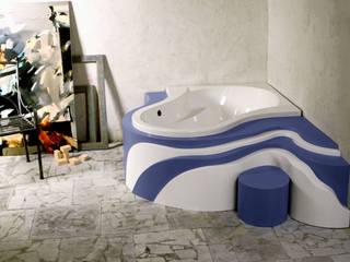 Projekt obudowy wanny od Anna Buczny PROJEKTOWANIE WNĘTRZ Nowoczesny