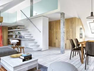 Mieszkanie na Krzykach we Wrocławiu: styl , w kategorii  zaprojektowany przez Modelista