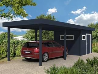 Flachdach mit Anbau:   von Gardendreams International GmbH