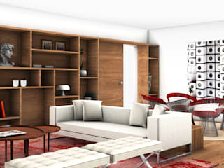 Tiago Patricio Rodrigues, Arquitectura e Interiores Modern living room
