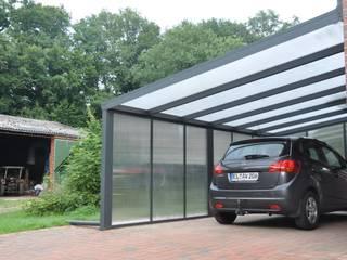 Standard Terrasuberdachung als Carport:   von Gardendreams International GmbH