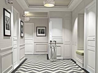 Квартира Шуваловский проспект. Ivory Studio Коридор, прихожая и лестница в классическом стиле