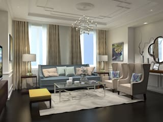 Living room by Ivory Studio, Classic