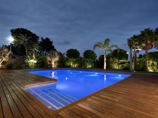 Tropische Pools von Estudio de paisajismo 2R PAISAJE Tropisch
