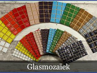 Mozaiek van mozaiektegeltjes-enzo Eclectisch