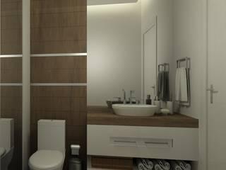 Modern bathroom by Eliegi Ambrosi Arquitetura e Design de Interiores Modern
