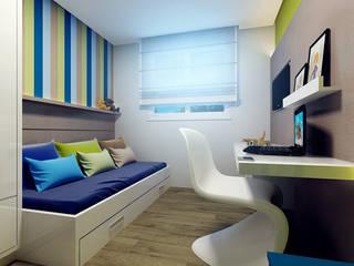 Modern nursery/kids room by Eliegi Ambrosi Arquitetura e Design de Interiores Modern