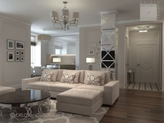 by Orlova Home Design Eclectic