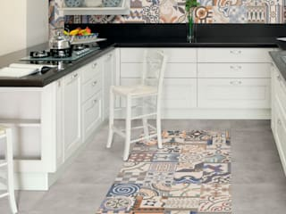 Shoreditch Eclectic style kitchen by The Baked Tile Company Eclectic