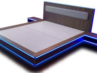 Кровать молодёжная в стиле фильма ТРОН:  в . Автор – MEBXLINE