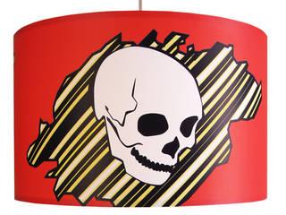 Lampenschirm Totenkop:   von Leuchtenambiente