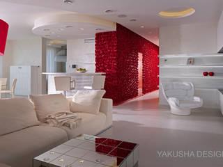Fashion apartment: Гостиная в . Автор – Yakusha Design