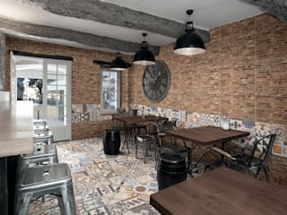 East End Brick by The Baked Tile Company Iндустріальний