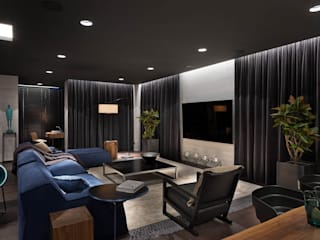 Living room by INCUBE Алексея Щербачёва