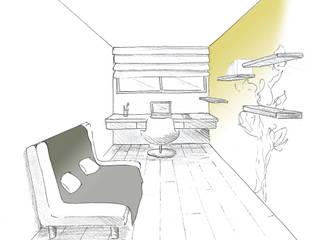Bureau: Bureau de style  par Ingrid Martin Décoration