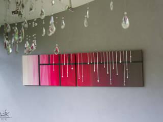Tableau sur-mesure véranda parisienne - Projet N°22 par Clonik Art Moderne