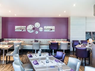 Tableau sur-mesure Hôtel Beauregard- projet N°109-110 Gastronomie moderne par Clonik Art Moderne