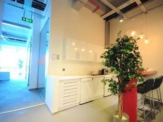 FMC OFİS VE LABORATUVAR Modern Klinikler na-md Mimarlık Modern