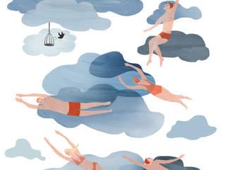 Raamillustratie 2:   door Agnes Loonstra - Nes is More