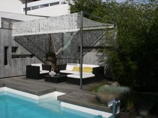 Gartenlounge am Bodensee: moderner Garten von STYLE-interior design,  Ganal + Sloma