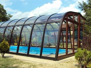 Exklusive Schwimmbadüberdachung Gracja Pool