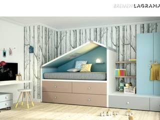 Bremen: Dormitorios infantiles de estilo  de Yupih