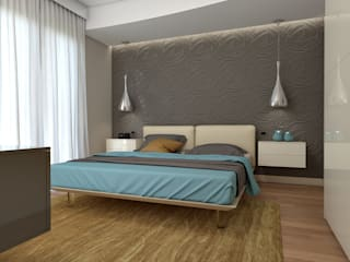 Rendering #1: Camera da letto in stile  di Studio 7sei