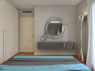 Rendering #3: Camera da letto in stile  di Studio 7sei