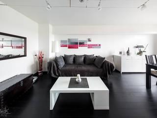 Tableau Contemporain polyptyque- projet N°64 Salon moderne par Clonik Art Moderne