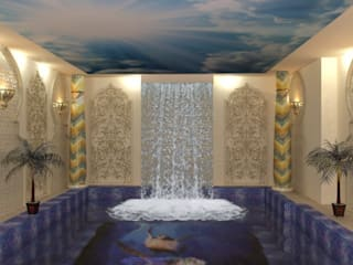 Бассейн в частном доме Бассейн в азиатском стиле от milina16 Азиатский