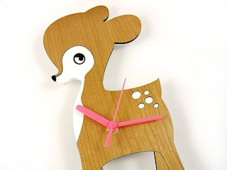 Fawn Clock:   by BooBoo and Ted