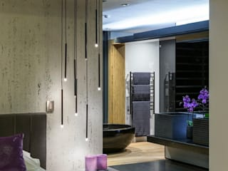 House in Blair Atholl Nico Van Der Meulen Architects Modern style bathrooms