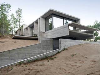 WEIN HOUSE Modern houses by Besonías Almeida arquitectos Modern