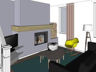 Maison FO:  de style  par Ingrid Martin Décoration