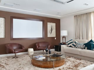 Ana Adriano Design de Interiores Salones de estilo moderno