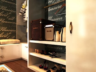 Dressing room by Your royal design, Eclectic
