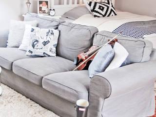 Living room by YNOX Architektura Wnętrz, Scandinavian