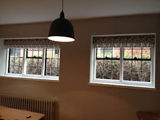 Roman Blinds - Rapture & Wright Fabric:   by WAFFLE Design