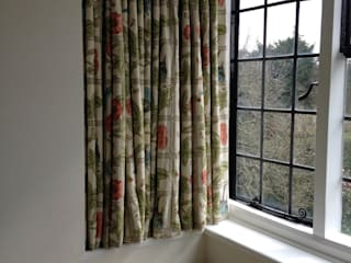 Bay Window William Morris Sill length  Curtains:   by WAFFLE Design
