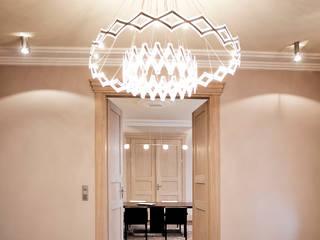 Salas de estilo clásico de Anna Buczny PROJEKTOWANIE WNĘTRZ Clásico